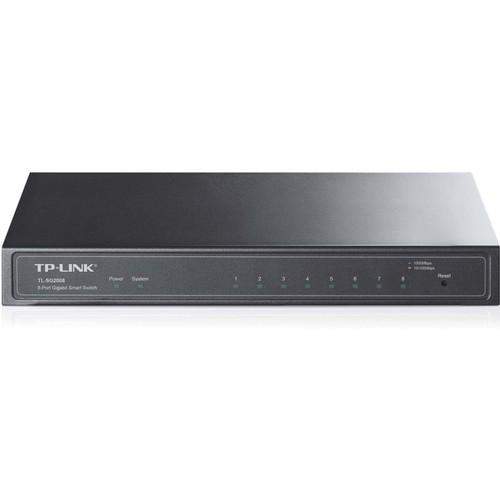 TP-LINK - 8-Port Gigabit Smart Switch - Multi