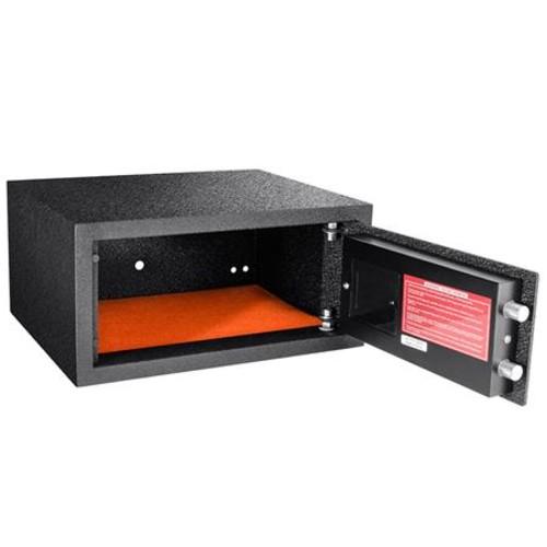 Barska HQ100 0.46 Cubic Foot Biometric Keypad Safe, Black AX12476