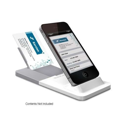 Penpower WorldCard Link Instant Business Card Reader - Cradle for iPhone 4, Charging Dock, Multiple Language Recognitio