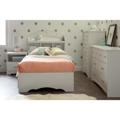 South Shore Tiara 6-Drawer Pure White Dresser