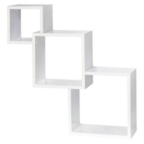Dolle Cascade Floating Boxes Wall Shelf - White