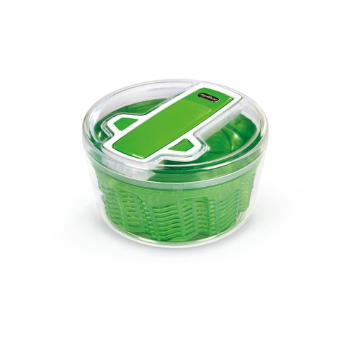 Zyliss Swift Dry Salad Spinner Large, Green