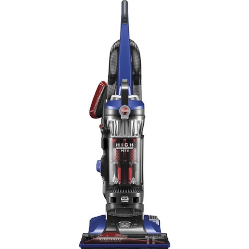 Hoover - WindTunnel 3 High Performance Pet Bagless Upright Vacuum - Blue