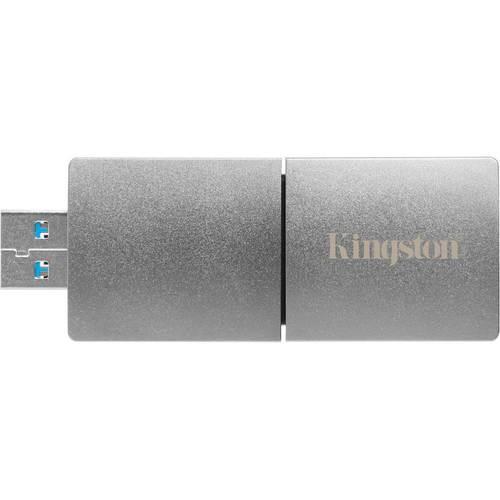 Kingston - DataTraveler Ultimate GT 2TB USB 3.1 Flash Drive - Silver