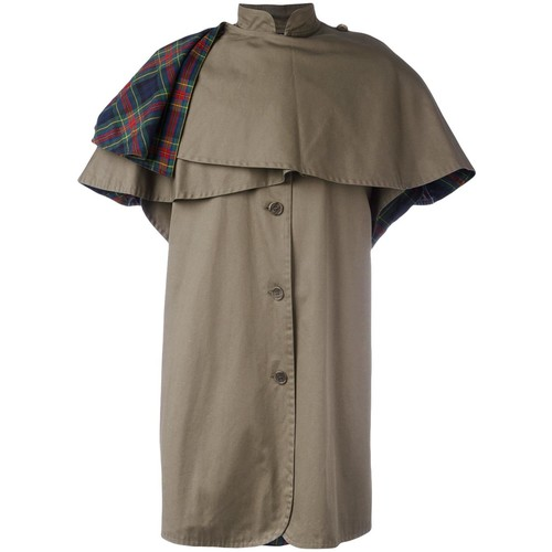 Yves Saint Laurent Vintage caped coat