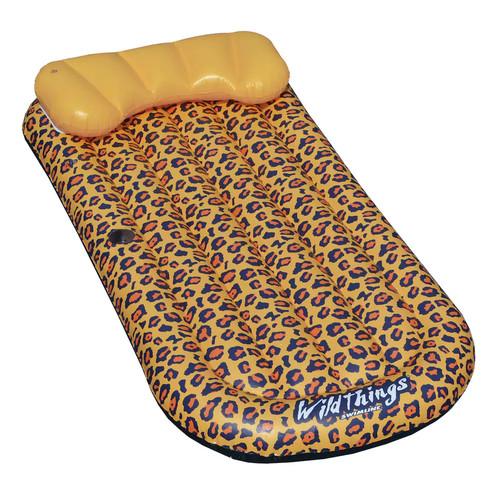 Swimline Wildthings Cheetah Lounge Pool Float Mattress