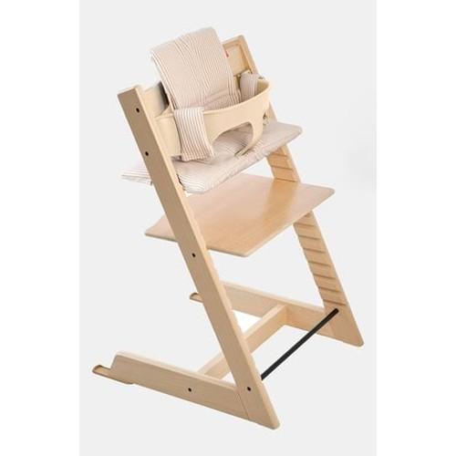 Stokke Baby 'Tripp Trapp' Chair, Seat Cushion & Tray Set Walnut