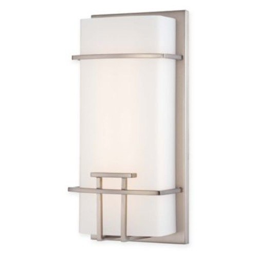 George Kovacs LED Wall Sconce with Brushed Nickel Finish