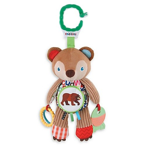 Eric Carle Developmental Brown Bear Plush Toy