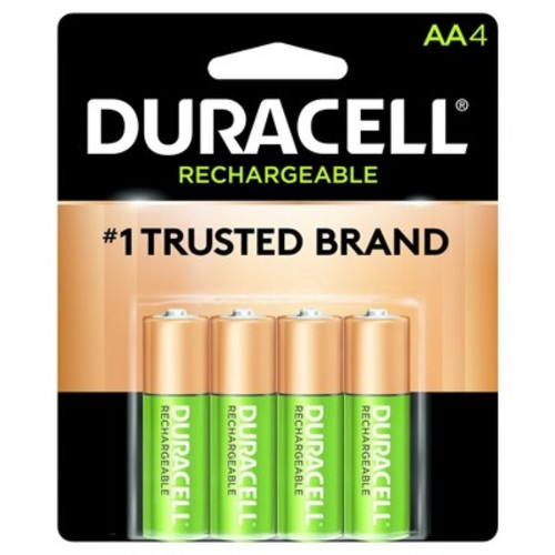 Duracell Rechargeable AA Batteries - 4 Count