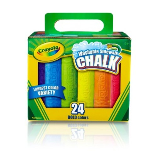 Crayola Sidewalk Chalk Washable 24ct