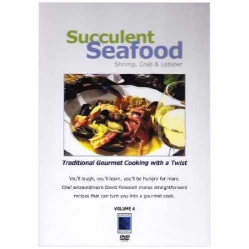 Gourmet Cooking: Succulent Seafood - Shrimp, Crab and Lobster [DVD] [English] [2000]