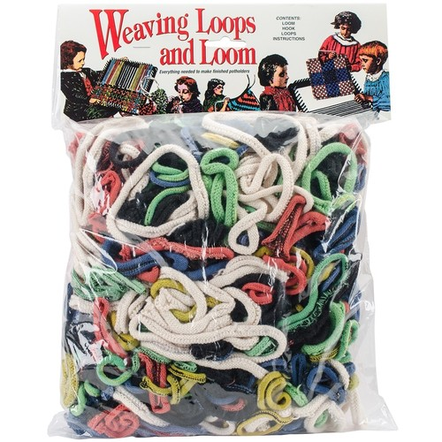 Wool Novelty Loop and Loom Set in Rack Pack with Header