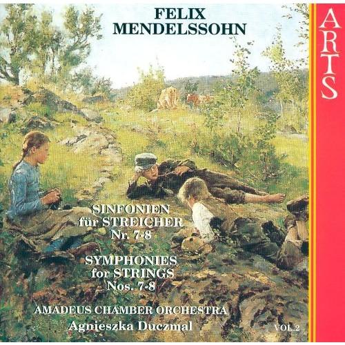 Mendelssohn: Symphonies for Strings, Nos. 7-8 [CD]