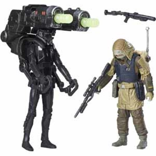 Hasbro Star Wars: Rogue One 6 Action Figure - Imperial Death Trooper and Rebel Commando Pao Deluxe