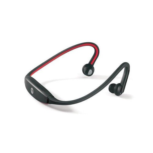 Wireless Bluetooth Headset Sports Stereo Headphone for Smart Cell Phone Red