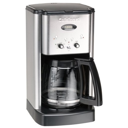 Cuisinart DCC-1200FR Brew Central 12-Cup Coffeemaker, Brushed Stainless Steel (Certified Refurbished)