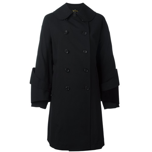COMME DES GARÇONS Double-Breasted Trench Coat