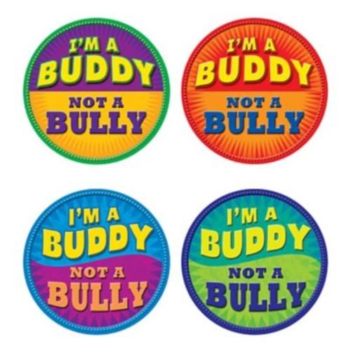 Teacher Created Resources I'm a Buddy Not A Bully Wear'Em Badge