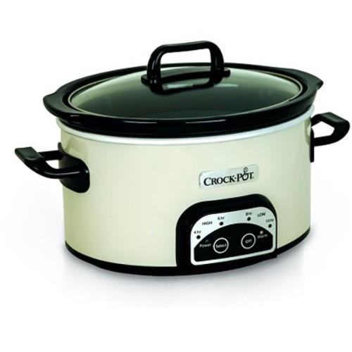 Crock-Pot Smart-Pot 4 Qt. Digital Slow Cooker - White SCCPVP400