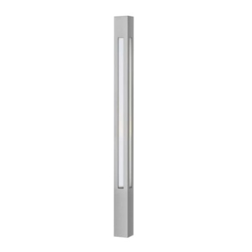 Hinkley Lighting 20-Watt Titanium Dorian Bollard Light