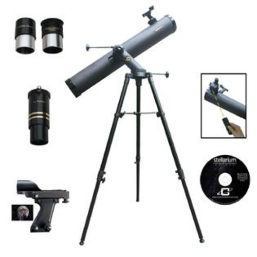 CASSINI 1000mm x 120mm Tracker Reflector Telescope Kit with Electronic Focus