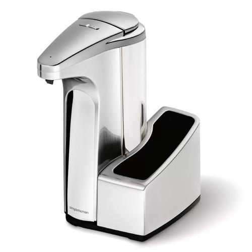 simplehuman 13-oz. Sensor Pump Soap Dispenser with Caddy ST1031