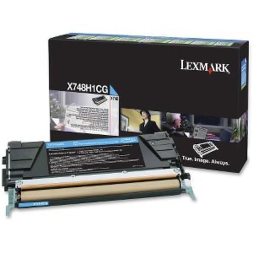 Lexmark Toner Cartridge - Cyan - Lexmark - X748H1CG