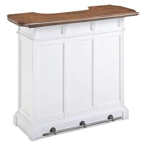 Americana Bar Wood/White - Home Styles