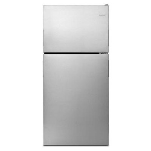 Amana 18.2 cu. ft. Top Freezer Refrigerator in Stainless Steel