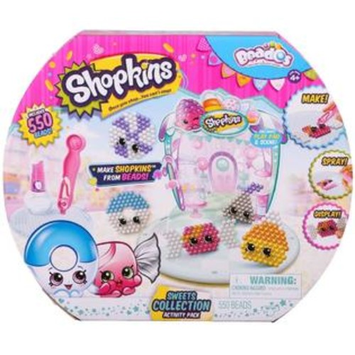 License 2 Play Beados Shopkins S3 Activity Pack: Sweets