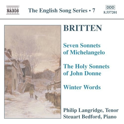 The English Song Series 7: Britten