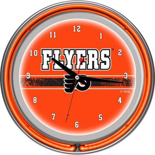 Trademark Games Philadelphia Flyers 14'' Neon Clock