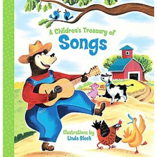 A Children's Treasury of Songs (Paperback)