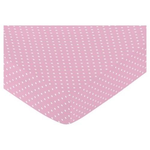 Sweet Jojo Designs Skylar Fitted Crib Sheet - Polka Dot