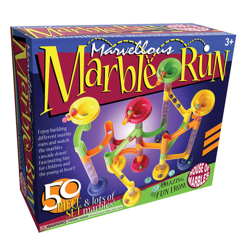 Marvellous Marble Run 50-pc. Set by House of Marbles