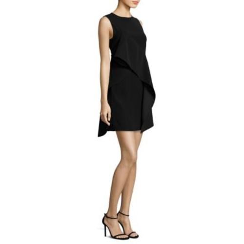 DIANE VON FURSTENBERG Sleeveless Ruffle Front Dress
