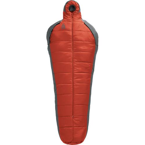 Sierra Designs Mobile Mummy SYN 1.5 Season Sleeping Bag [Red,Regular]