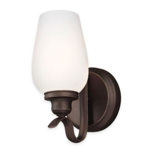 Feiss Standish 1-Light Wall Sconce in Oil-Rubbed Bronze