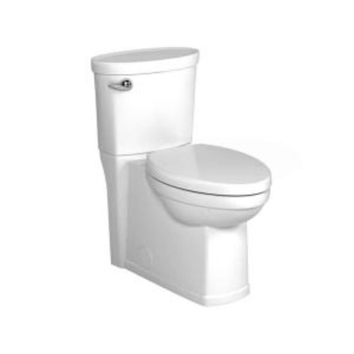 American Standard Cadet 3 Decor Right Height 2-Piece 1.28 GPF Single Flush Elongated Toilet in White