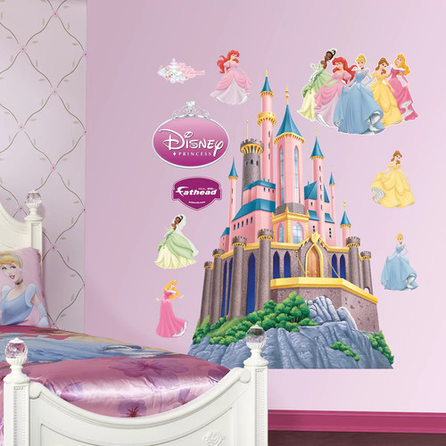 Disney Princess Castle Fathead