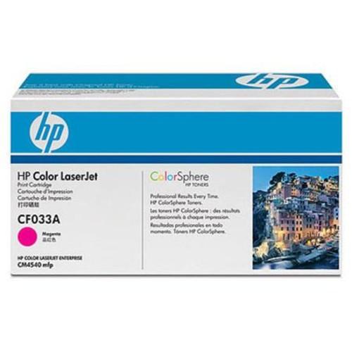 HP CF033A Magenta LaserJet Toner Cartridge CF033A