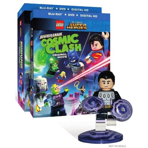 LEGO DC Comics Super Heroes: Justice League - Cosmic Clash [With Figurine] [DVD/Blu-ray] [2 Discs] [Blu-ray/DVD]