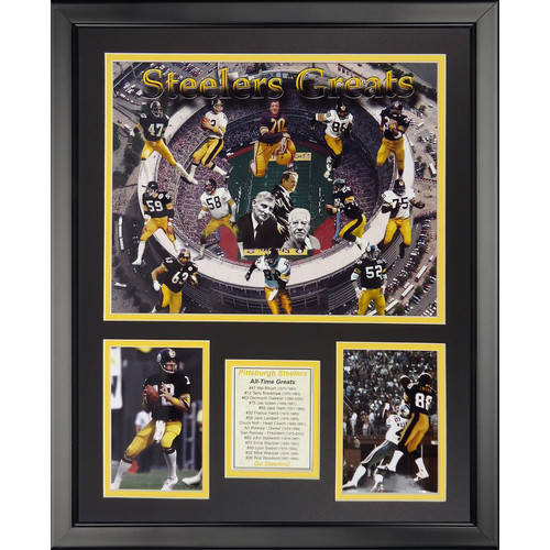 NFL Pittsburgh Steelers - Steeler Greats Framed Memorabili