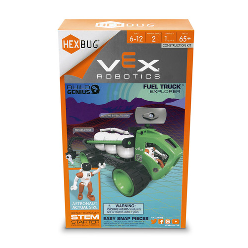 Hexbug VEX Robotics Explorers Fuel Truck Construction Kit