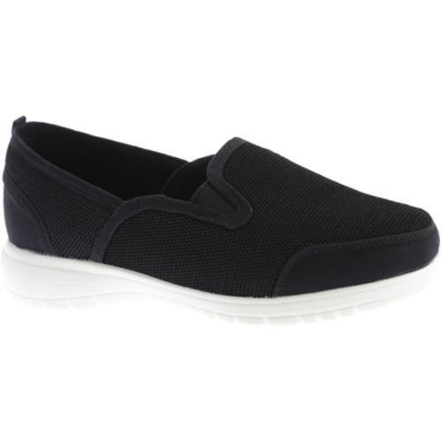 Women's Beacon Shoes Dandy Sneaker Black Mesh Textile