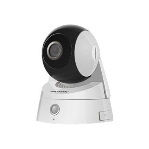 Hikvision DS-2CD2Q10FD-IW - Network surveillance camera - pan / tilt - color (Day&Night) - 1 MP - 1280 x 720 - 720p - M12 mount - fixed focal - audio - wireless - Wi-Fi - LAN 10/100 - MJPEG, H.264 - D