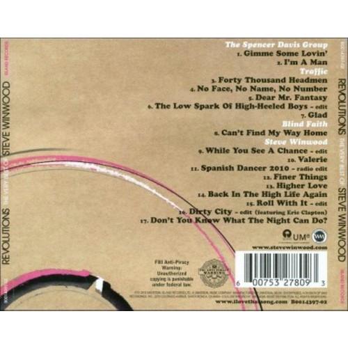 Steve Winwood - Revolutions: The Very Best of Steve Winwood (CD)