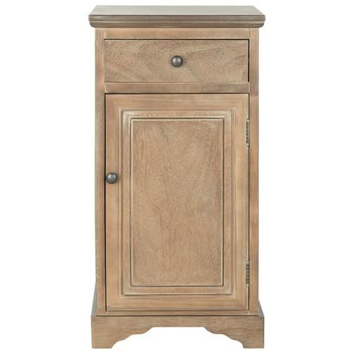 Safavieh Coffee, Console, Sofa & End Tables Safavieh Jett Grey Storage Wash Cabinet