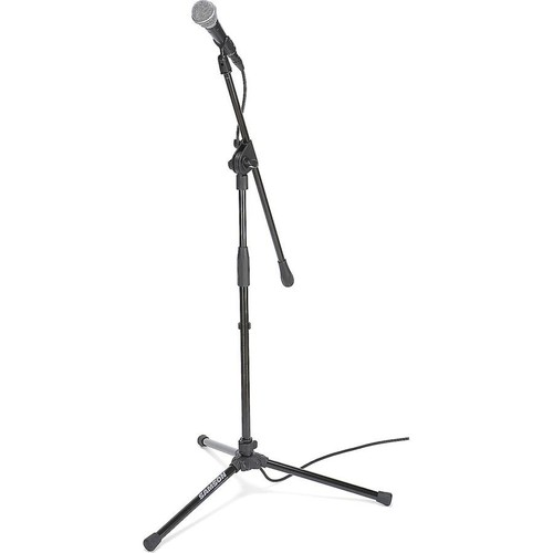 Samson VP10 Value Pack Includes R21S mic, MK10 boom stand, mic clip, and 18' mic cable